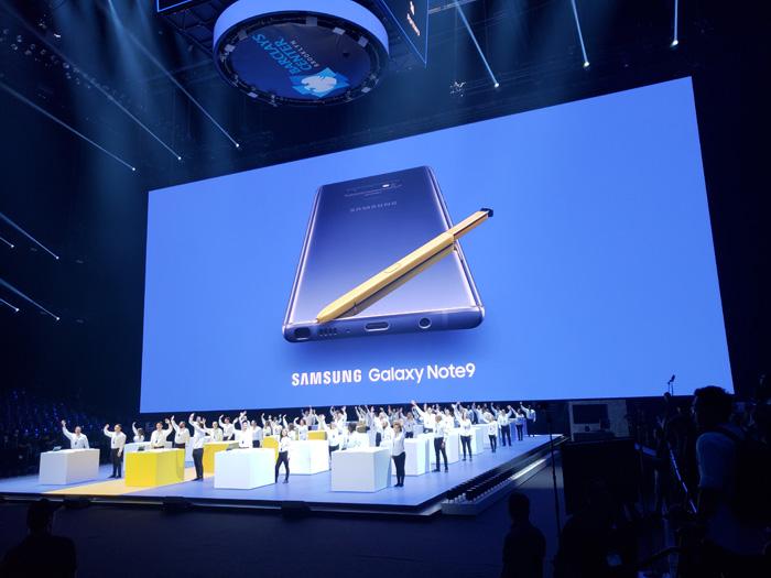 サムスン「Galaxy Note9」