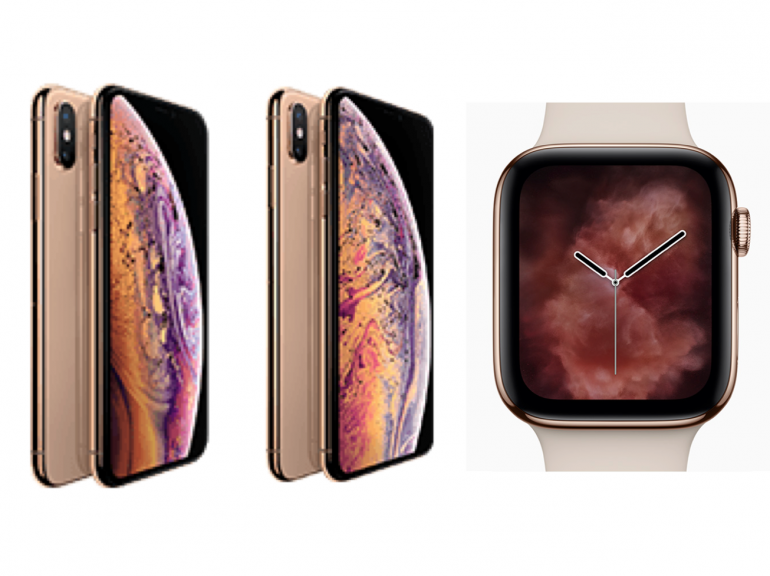 ソフトバンクが「iPhone XS」「iPhone XS Max」「Apple Watch Series4」の価格を発表