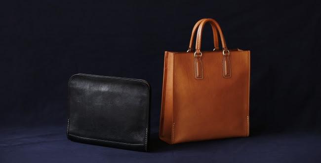 上質なイタリアンレザーで仕立てた土屋鞄の「URBANO」シリーズから新作トート、クラッチが登場