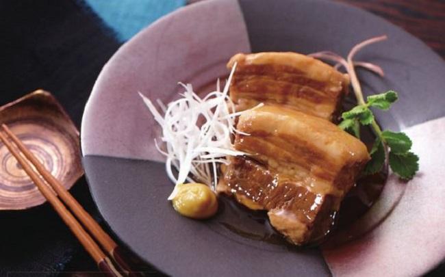 豚 の 角 煮 コーラ レンジ