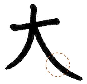 漢字 あける 間隔 を