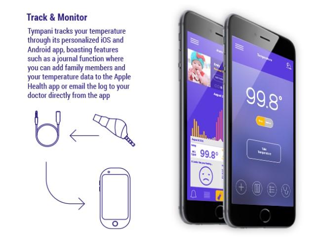 アプリ 体温 測る