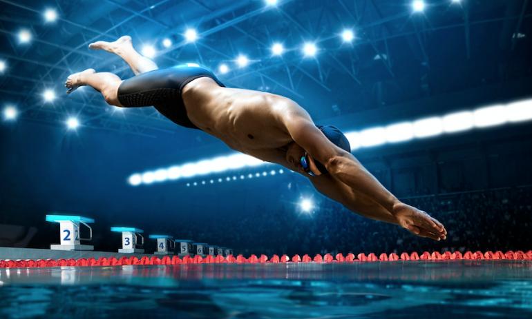 クロールの泳ぎ出し前のバタ足は減速の大きな原因になる、順天堂大学 ...
