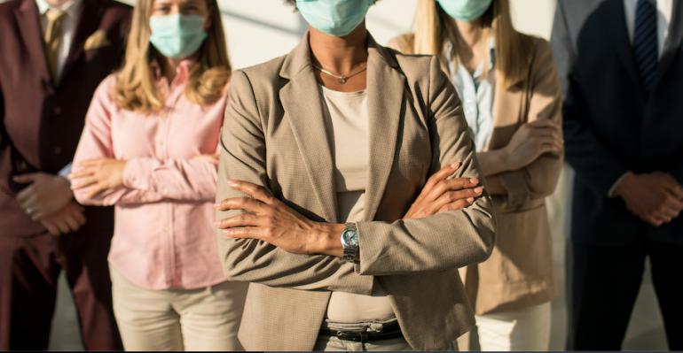 企業の経営層が感染症対応で見直すべきだと考えるワークフローTOP3、3位オフィス外か…