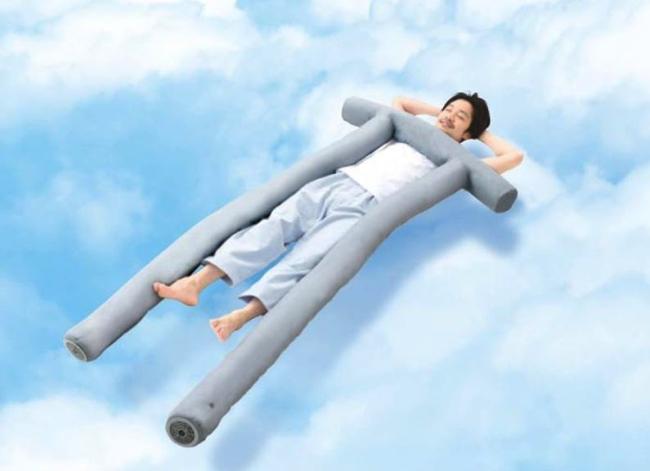 電動ファンで風を起こして雲の上にいるような寝心地に導くATEXの新感覚 ...